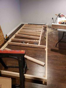 building custom indoor putting green